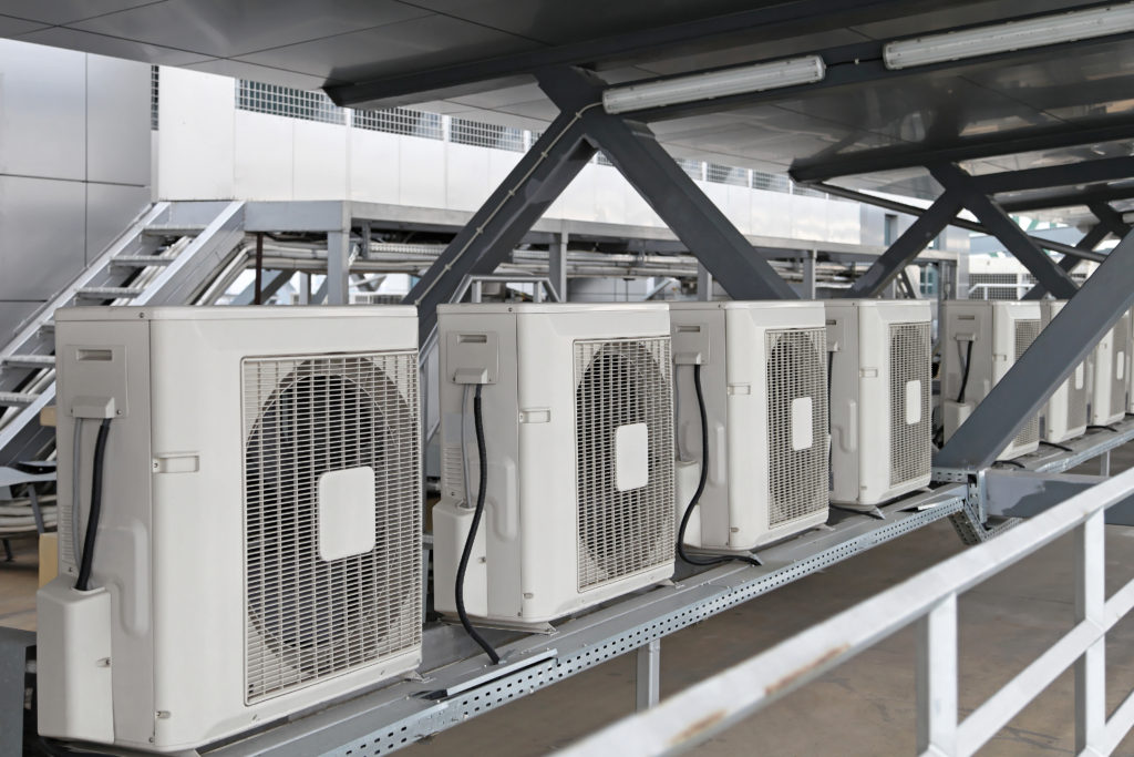 Commercial Rooftop HVAC System